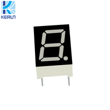 Free samples indoor 0.32 inches 7 segment led single digital number display