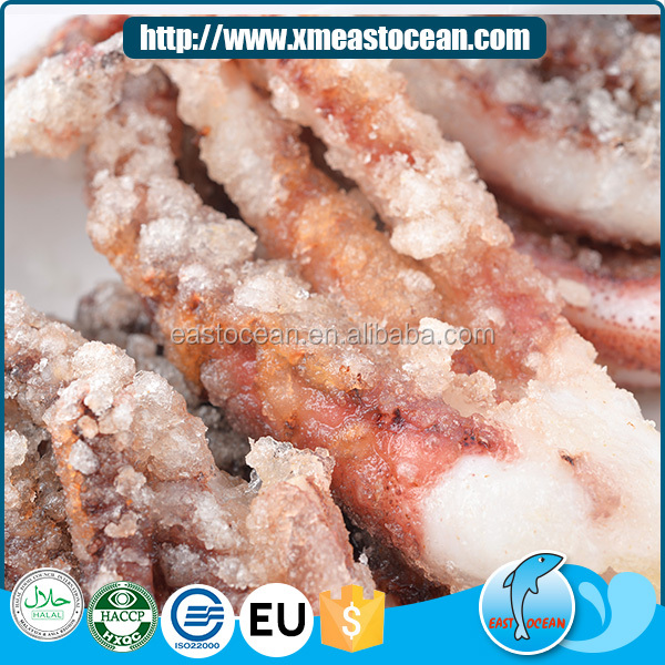 Japanese flavor high quality seafood frozen dried wholesale breaded squid snacks