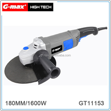 G-max 1600W 180MM Angle Grinders With Long Handle GT11153