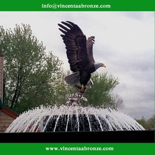 Christmas Gift life size outdoor eagle statue