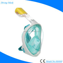 Panoramic Full Face Design 180 degree View Snorkel Mask - Flat form diving mask