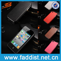 Leather Wholesale for iphone 4s cover Custom Back Cover Case