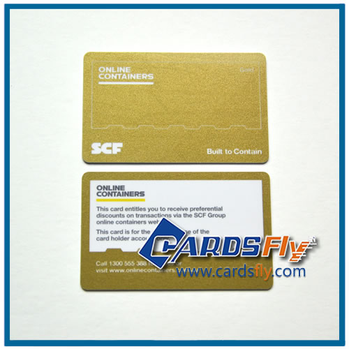 embossing machine business card