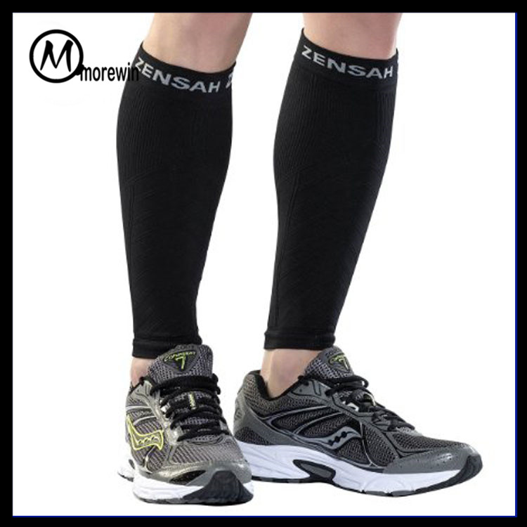 Morewin Brand Graduated Compression Calf Compression Sleeve - Sports Men and Women's Leg Compression Sleeves