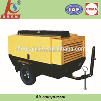 Shoukai Brand electric motor portable air compressor for drilling rig