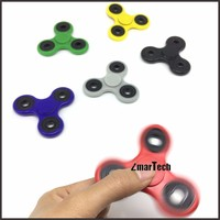 Various colors 4mins video attached fidget toys for adults hand spinner