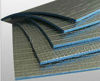 High Temperature Reflective Material Double Foil XPE Foam Thermal Insulation