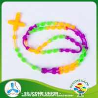 Free sample silicone beads necklace wholesale