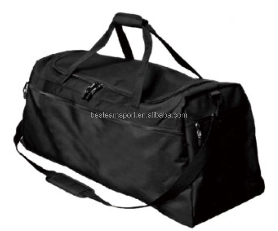 Soccer team bag foldable travel sports bag duffel bag with pockets