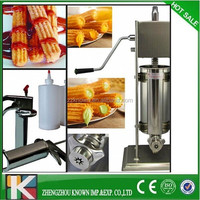 High quality manual filler machine/churros filling machine