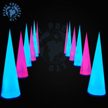 Lighting Inflatable Cone, inflatable wedding decoration (PLL10-018)
