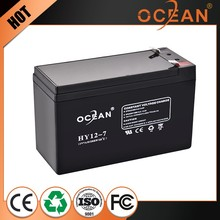 OEM free of charge maintenance free sealed lead acid battery 6v 4ah 20hr rechargeable battery
