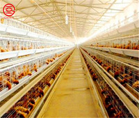 Fast build construction prefabricated steel structure cheap chicken poultry farm house