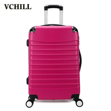 urban abs+pc plastic hardshell trolley luggage bags
