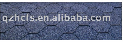 hexagonal shingle