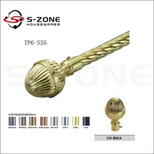 Curtian accessories 19mm curtain rod in China