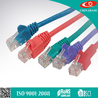 UTP CAT5E CAT6 Lan Cat 6 30cm Patch Cord Cable Network Cable