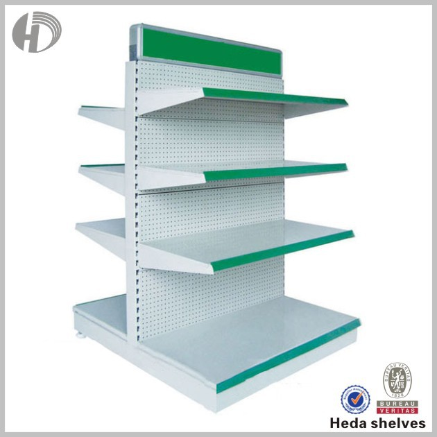 stainless steel gondola candy commercial gondola shelving
