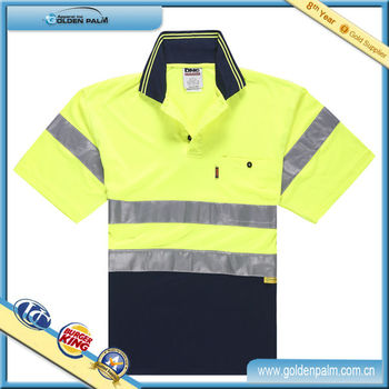 Professional Polo Shirt Factory,Safety Polo Shirt,Short Sleeve Polo Shirt