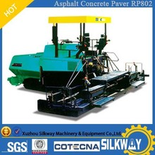 Road Build Machinery XCMG 8m Asphalt Concrete Paver RP802 with Imported Parts