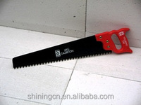 tungsten teeth hand saw with plastic handle