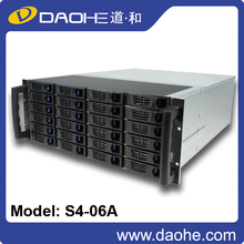 2016 new 4u 24bays 550mm length rack mount server chassis(free sample is provided) rackmount chassis