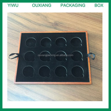new design luxury hot sale custom wooden coin tray