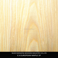 maple wood recon face veneer for flooring,furniture door wall plywood laminated face sheets/wood veneer panel