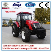 KH 1204 4 Wheel drive agricultural equipment farm/farming 130HP machine tractor