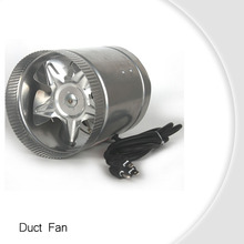 Hydroponics Air Booster 6 Inch inline duct extractor fan