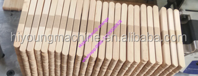 Tongue Depressor Chamfering Machine|Wooden Ice Cream Stick Bundling Machine|Automatic Tongue Depressor Machine