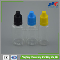 10ml e liquid plastic dropper bottle for e liquid or e juice with childproof cap