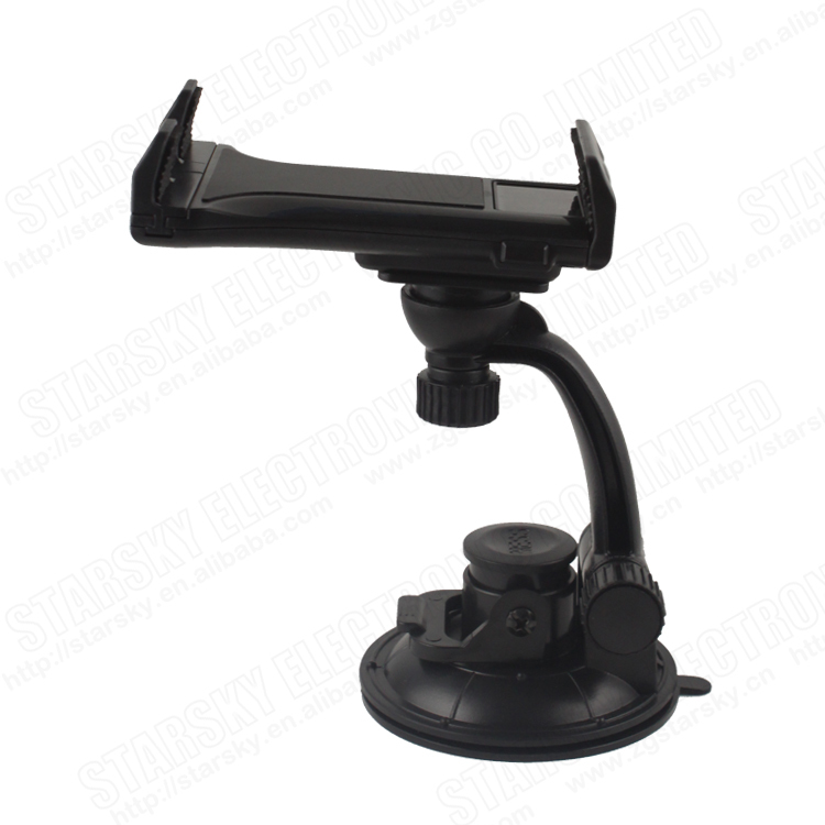 windshield mount universal car holder 360 degreen adjustable tablet car mount holder car mount holder for 5-10 inch tablet pc