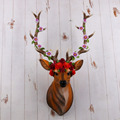 New arrived home decoration customized resin deer head for sale