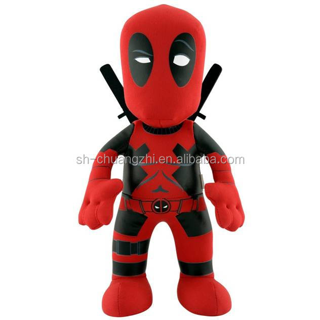 Plush toys for crane machine animal stuffed toys plush Deadpool dolls wholesale manufactory anime Marvel heros dolls
