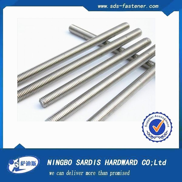 China Supplier internal thread /threaded rod /all threaded rod /din975