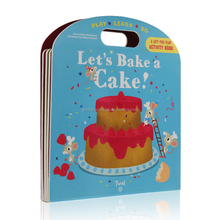 pull and slide let us bake a cake play learn do book children picture book
