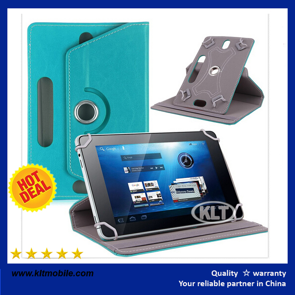 360 Degree Universal tablet case leather cover colorful