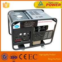Super Power Portable Silent 10kw Electric Start Generator 10kva Set for Sale