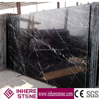 Cheap Beautiful Chinese Black Nero Marquina Marble