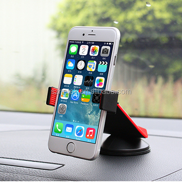 Car Phone Mount Cell Phone Holder for Dashboard and Windshield Car Accessories for samart phone and More-Retail Packaging