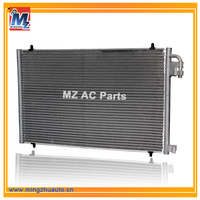Wholesale Factory Car AC Parts Parallel Flow Condenser With Best Price For Peugeot 206
