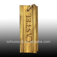 Custom cheap wooden wine box for sale