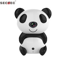 1.0MP 720P HD Smart Panda Wi-Fi Network IP Security Camera/Pet Baby Monitor, Home Security Camera Motion Detection Indoor Camera