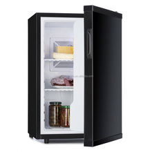 60L hotel mini bar fridge with glass door