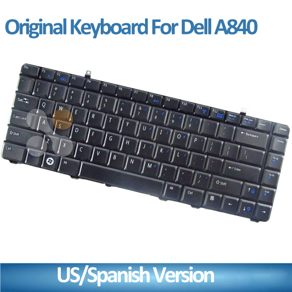 For Dell 500 1014 1015 1410 1088 A840 A860 US SP Layout Black Laptop Keyboard