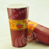 lovely cups delicate paper cup eco-friendly paper cup/ tall vending paper cup/ tea and coffe cup