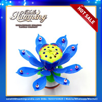 manufacturer high quality and happy musical flower birthday candle wholesale