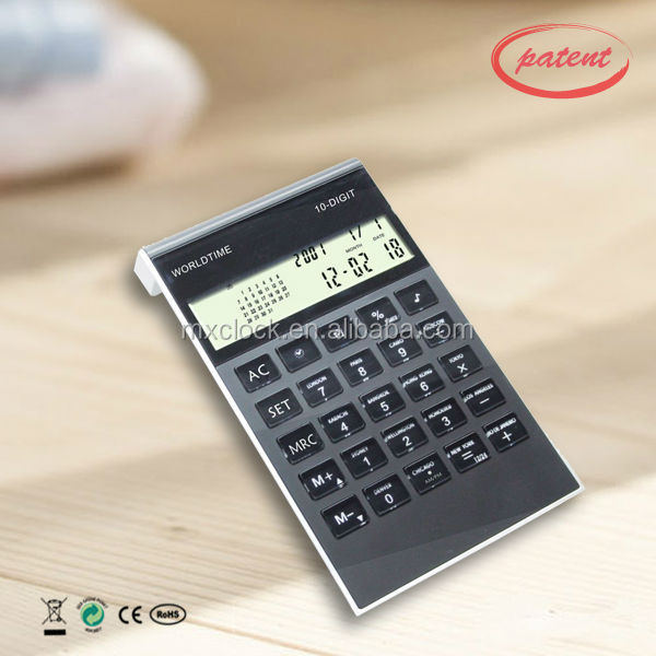 YD9026 calculator with calendar and time function, low cost function calculator,calendar function table digital calculator