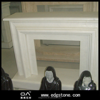Cheap price China artificial marble fireplace surround